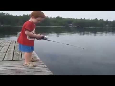 Video lucu anak kecil mancing dengan waktu tercepat