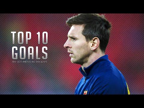 Lionel Messi ● Top 10 Goals in 2014/2015 | HD