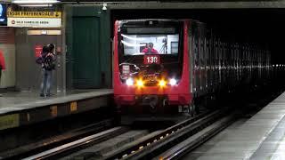 Metro De Santiago   NS-74 y NS-16 por Ciudad del Niño