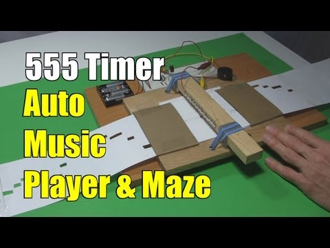 How to Make 555 Timer Music Player and Maze Solver