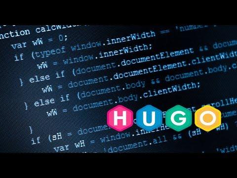 Создание блога на HUGO + Установка на Windows 10!
