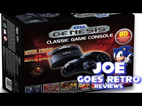 AtGames Sega Genesis Classic Console Review - Joe Goes Retro