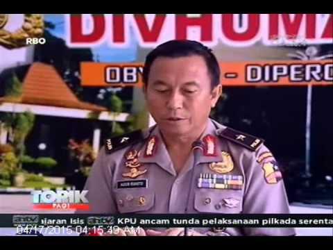 [ANTV] TOPIK Polisi Sita Bukti di Percetakan Negara