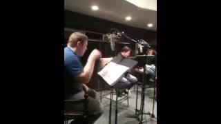 futurama voice in studio #2