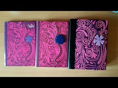 Как своими руками сделать дневник как у виолетты 59