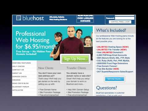 0 Bluehost Wordpress Hosting