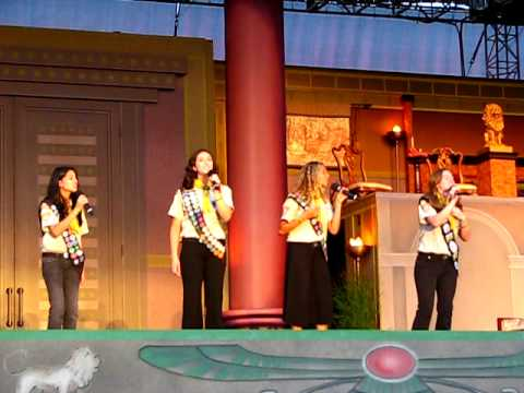 At the 2009 International Pathfinder Camporee in Oshkosh, Wisconsin. Save Our Souls (SOS) Rachel Rupert Kaiya Kretschmar Elyssa Nascimento Cheryl Simpson.
