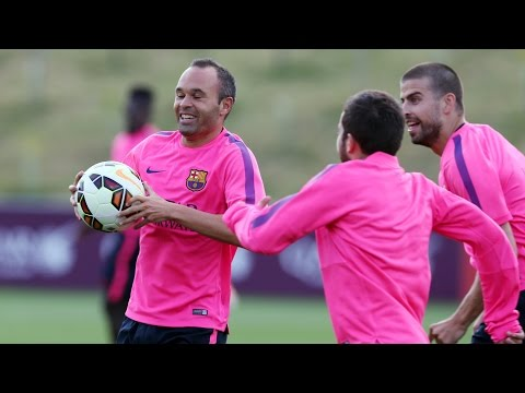 Training session 29/07/2014 (afternoon)