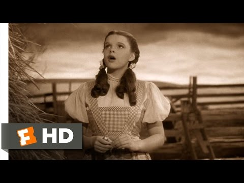 Somewhere Over the Rainbow - The Wizard of Oz (1/8) Movie CLIP (1939) HD Music Videos