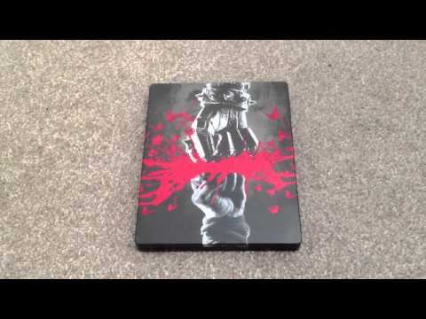 The man with the iron fist UK Blu-ray steelbook unboxing