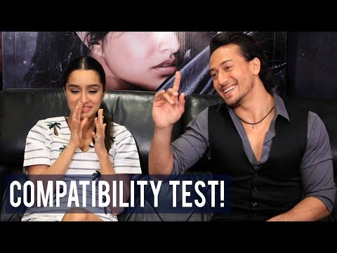 EXCLUSIVE   Tiger Shroff and Shraddha Kapoor take the compatibility test!