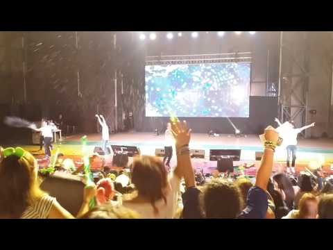 [ FANCAM ] 170216 B1A4 in Perú - A Glass of Water (quite literally, read desc.)