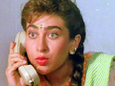 Karisma Kapoor Delivers A Wrong Dialogue - Sapne Saajan Ke video