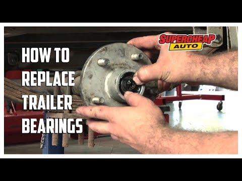 Replacing Trailer Wheel Bearings
