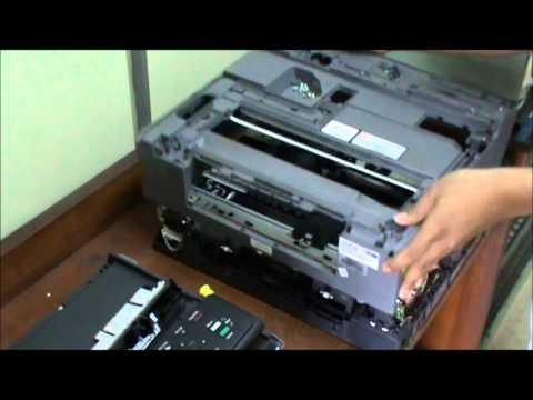 Bongkar Pasang Printer Brother DCP J125 - Praktek SMK TI di Pupuk Kujang