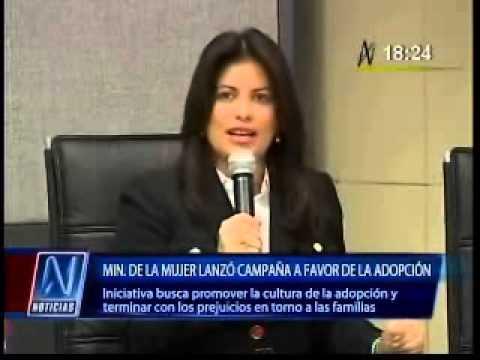 Ministerio de la Mujer lanzó campaña a favor de la adopción (Canal N)