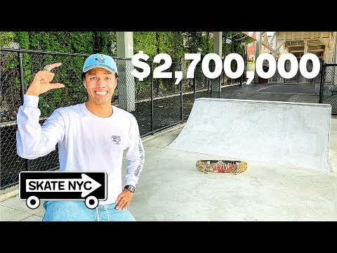 This TINY Brooklyn Skatepark Costs $2.7 Million Dollars!