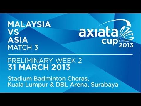 Round 2 - XD - Chan P.S./Goh L.Y. (MAS) vs A.Ponnappa/T.Kona (ASIA) - Axiata Cup 2013