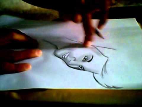 Dibujando a Abraham Mateo