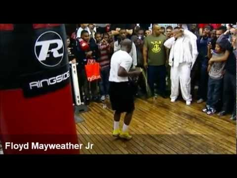 The Best Footwork in Boxing -- Training and Fight Footage Image 1