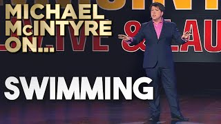 Compilation of Michael's Best Jokes About Swimming | Michael McIntyre