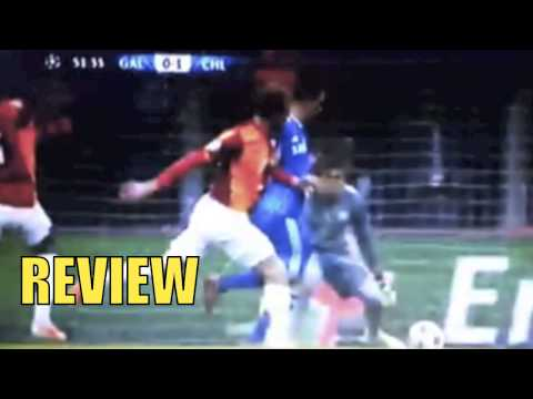 Galatasaray vs Chelsea FC 1-1 GOAL Chedjou, All goals & Highlights 26/02/2014 REVIEW