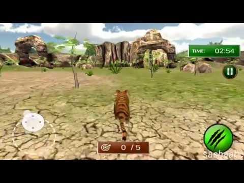 wild tiger jungle hunt обзор игры андроид game rewiew android.