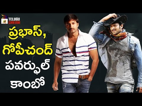 Prabhas and Gopichand Multi Starrer Movie Update | 2019 Tollywood Latest Updates | Telugu Cinema