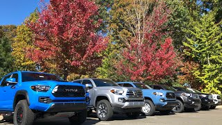 Comparing All 2019 Tacoma Trim Levels: How to Choose Yours!