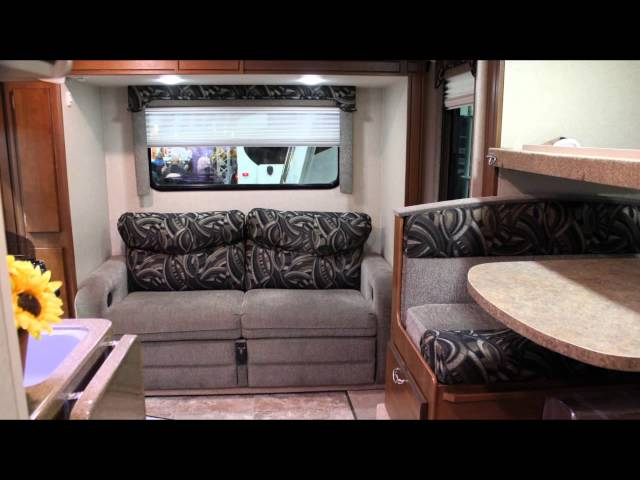 Micro Size Luxury Camper Living: The 2013 Lance 1172 Truck RV Camper: Double Slide !