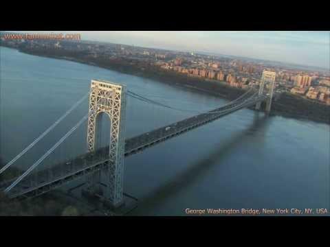 George Washington Bridge, New York City, NY, USA Collage Video - youtube.com/tanvideo11