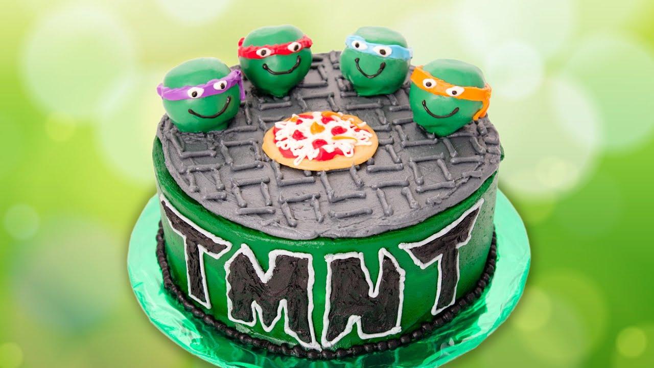 How To Make An Easy Teenage Mutant Ninja Turtle Cake