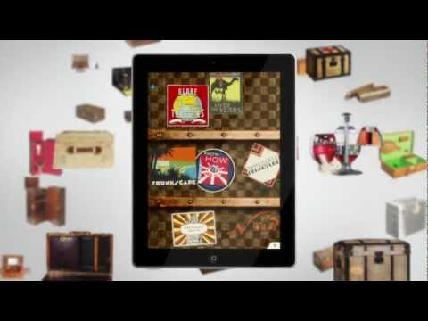 "Louis Vuitton presents ""100 Legendary Trunks"" iPad Application"