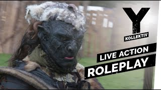 LARP - Live Action Role Play - ConQuest of Mythodea I Y-Kollektiv Dokumentation