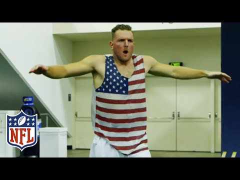 Colts Punter Pat McAfee Boots Himself into the Guinness World Records Book | NFL