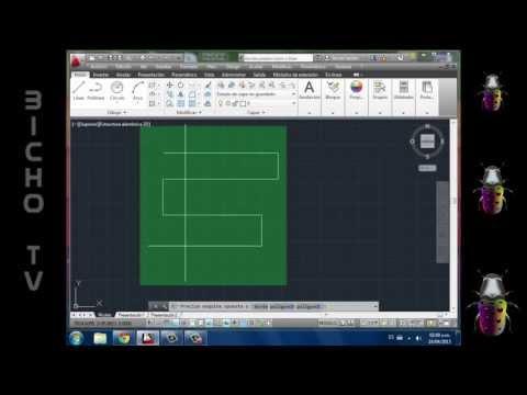 2 - Autocad 2013 (Curso ITELCA) - Líneas - Modificar, alargar, copiar, cortar, desfasar