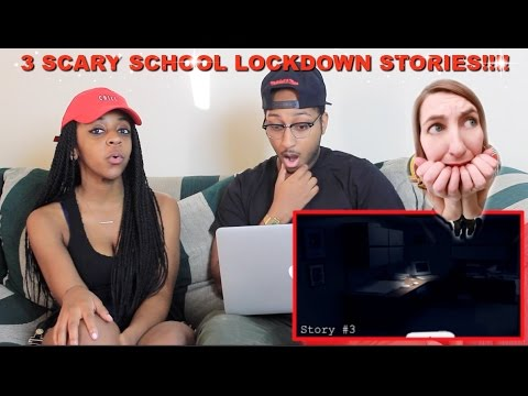 "Couple Reacts : ""3 Creepy True School Lockdown Stories"" By Mr. Nightmare Reaction!!!"