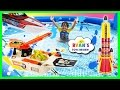 Giant Kid Pool Disney Cars Water Gun Fight RC Boat MatchBox S...