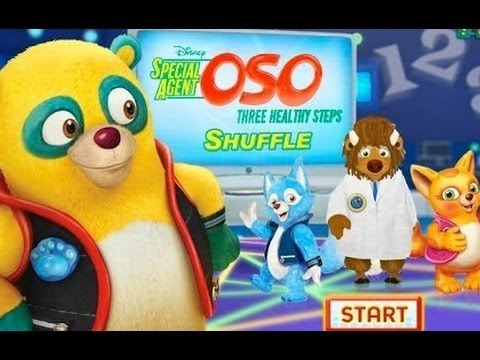 Special Agent Oso Three Healthy Steps Shuffle How To Hula Hoop