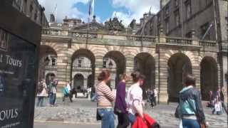 Student life in the city of Edinburgh
