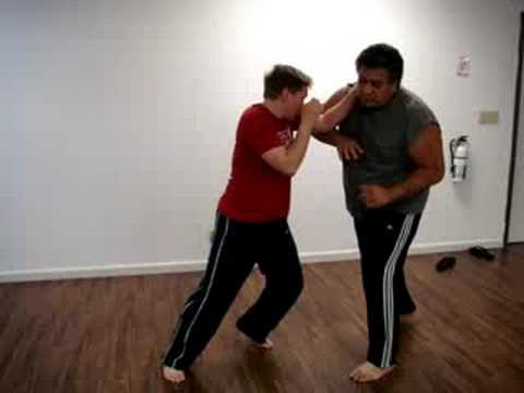 Donnie B. - Old Style Muay Thai Elbow Defense Techniques Image 1