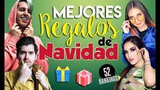 MEJORES REGALOS DE NAVIDAD DE LOS YOUTUBERS - 52 Rankings