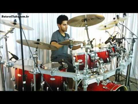 Pearl Vision VML Maple Ruby Fade soundcheck - BATERACLUBE.com.br