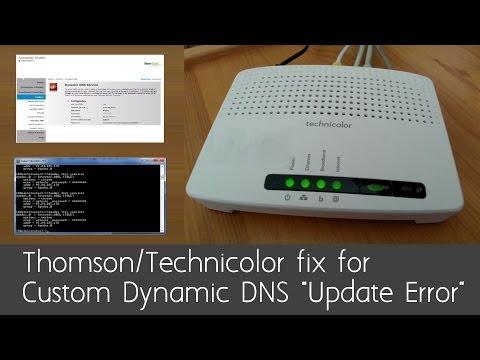 Technicolor Router (Thomson): Fix for