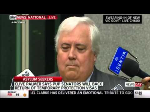 Clive Palmer - Migration Act Concessions a Win for Asylum Seekers