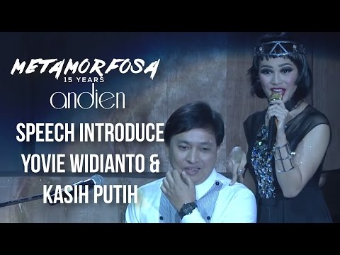 Andien - Speech Introduce Yovie Widianto & Kasih Putih | (Andien Metamorfosa)
