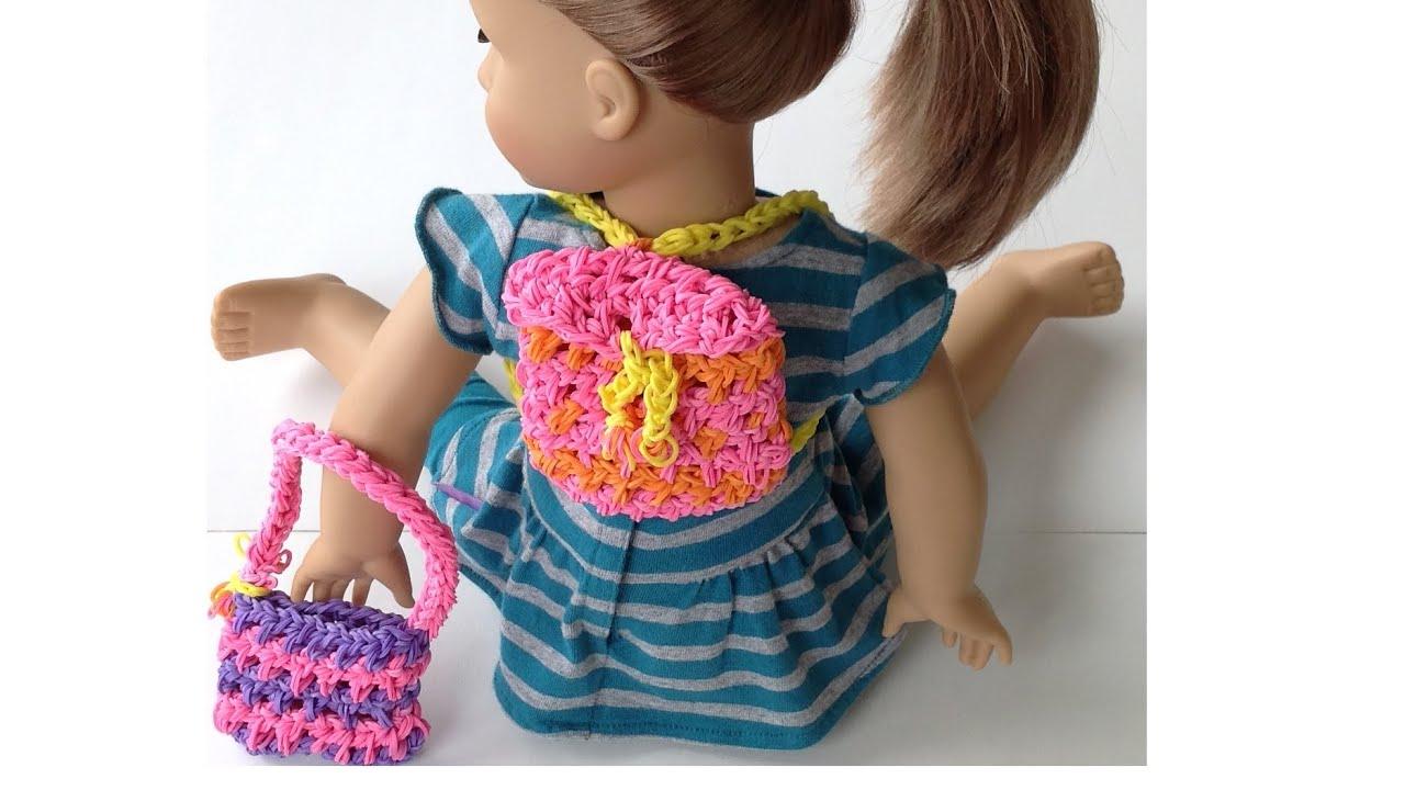 Поделки из резинок кукла 116