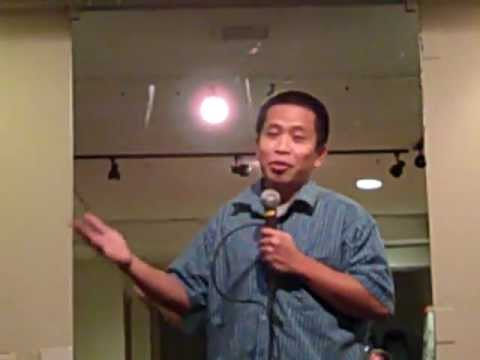 Filipino Comedian Danny Tan Stand up comedy:Small Penis Convention
