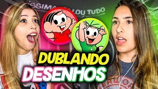BIBI VS DUBLADORA PROFISSIONAL! ft. Bianca Alencar