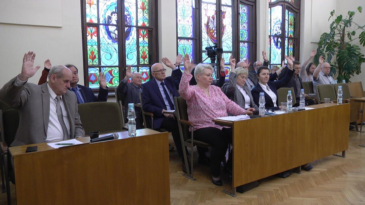 XXXVI sesja Rady Miejskiej